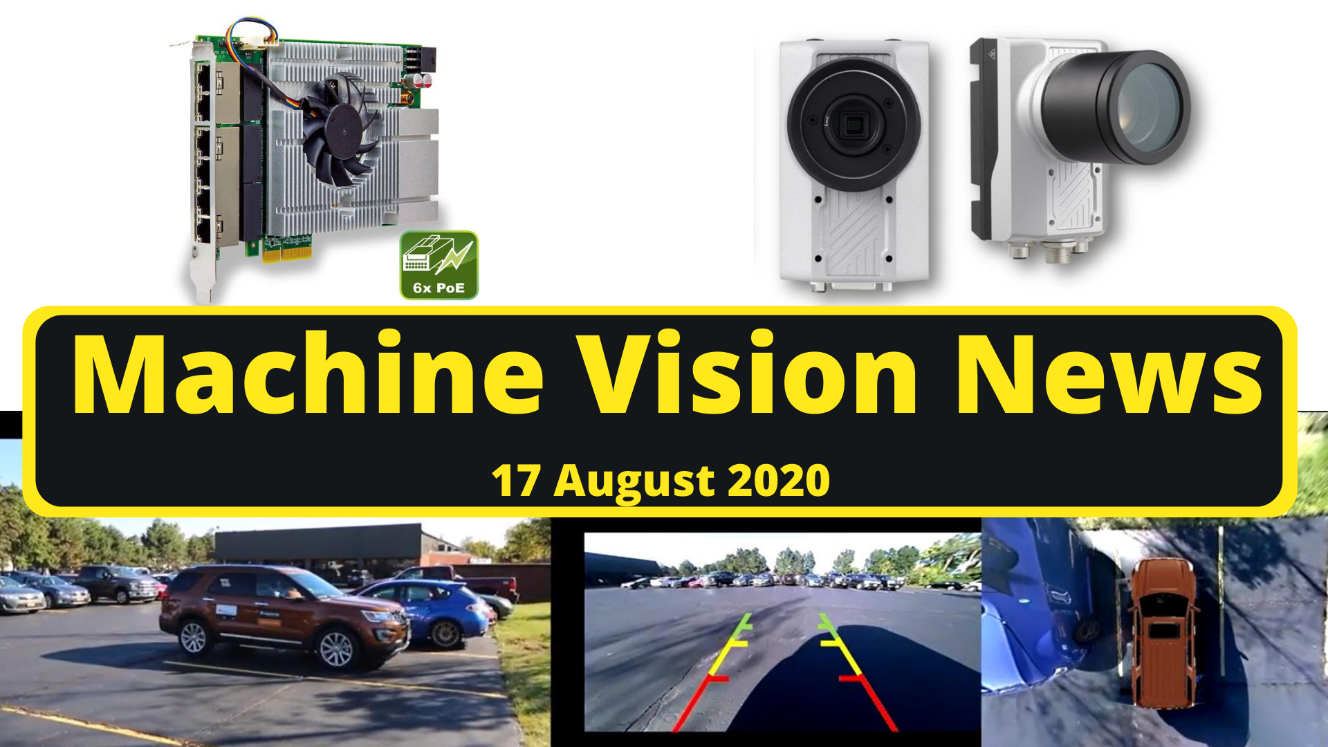 machine vision news august 2020