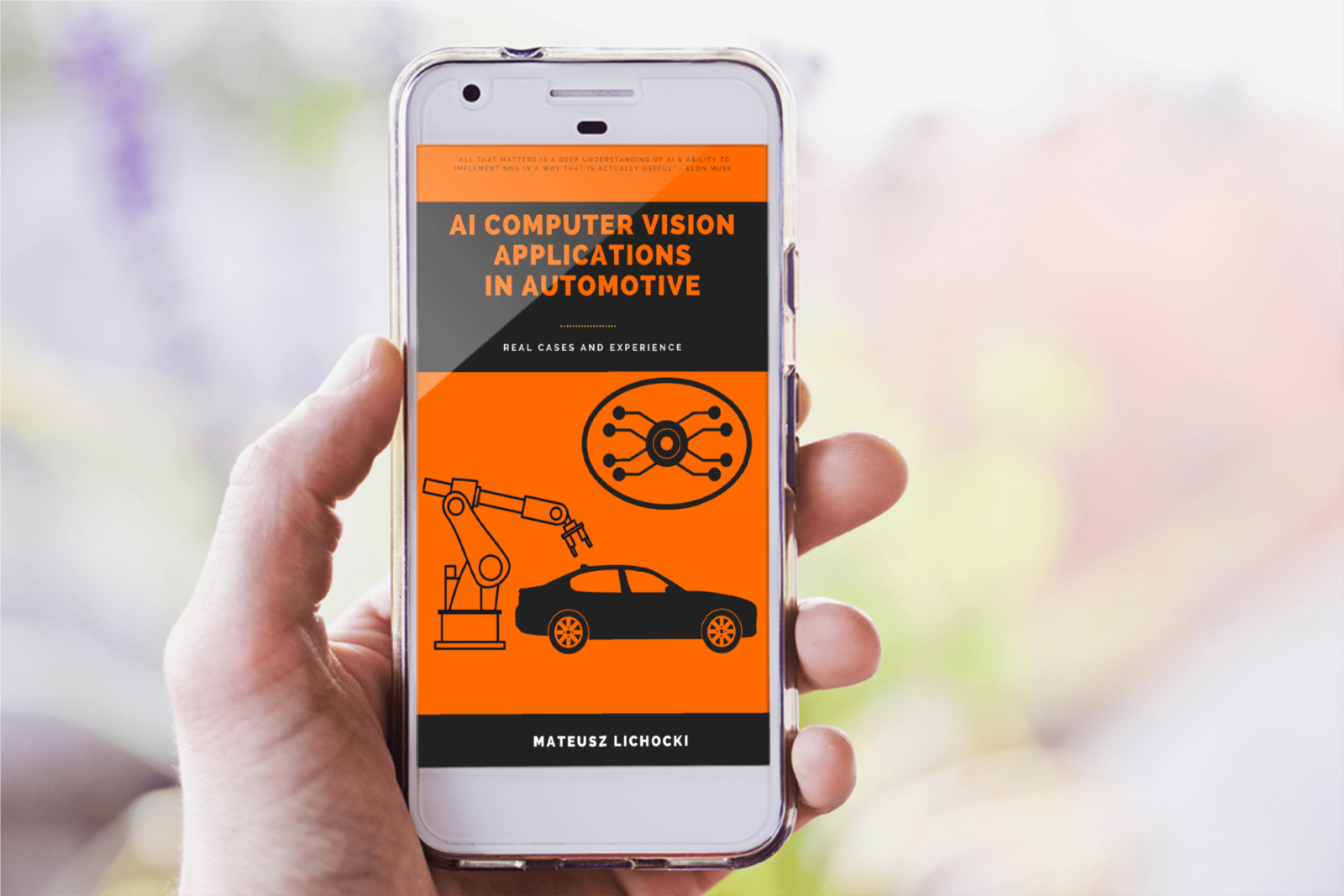 AI computer vision applications in automotive phone